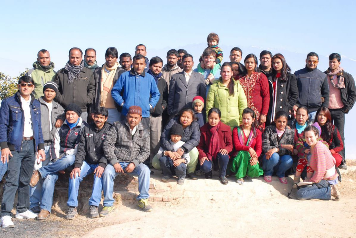 The Team From Kathmandu - Great pashminas require a great team.