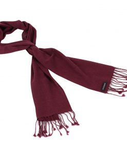Pashmina Scarf - 30x150cm - 100% Cashmere - Rhododendron