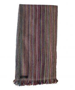 Cashmere Stripe Scarf - Srs04 - 45x180cm