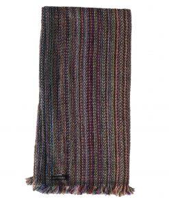 Cashmere Stripe Scarf - Srs06 - 45x180cm