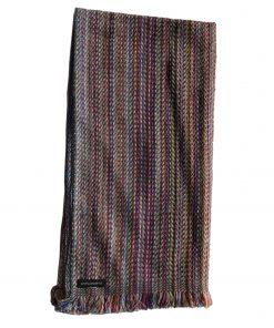 Cashmere Stripe Scarf - Srs18 - 45x180cm