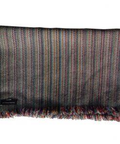 Cashmere Stripe Scarf - Srs33 - 33x180cm