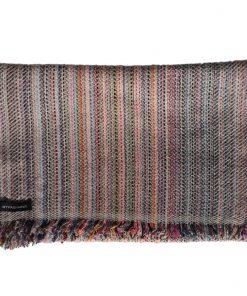 Cashmere Stripe Scarf - Srs35 - 33x180cm