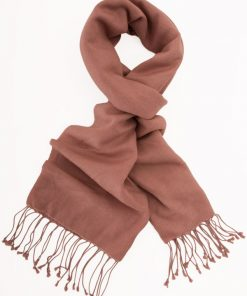 Pashmina Scarf - 30x150cm - 70% Cashmere/30% Silk - Withered Rose