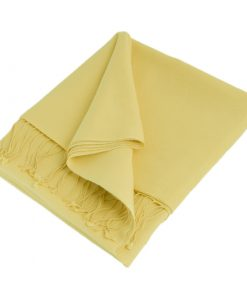 Pashmina Stole - 70x200cm - 70% Cashmere / 30% Silk - Italian Straw