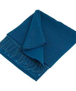 Pashmina Stole - 70x200cm - 70% Cashmere / 30% Silk - Princess Blue