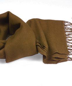 Pashmina Scarf - 30x150cm - 100% Cashmere - Bronze