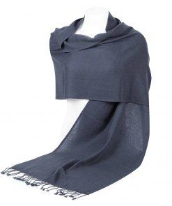 Pashminasjal - 45x200cm - 100% Cashmere - Folkstone Grey