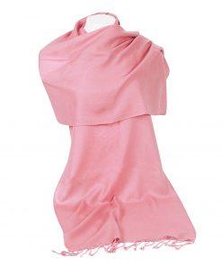 Pashminasjal - 45x200cm - 100% Cashmere - Quartz Pink