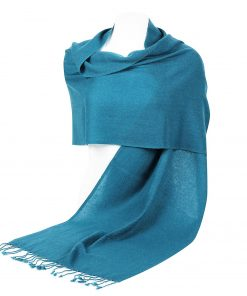 Pashminasjal - 45x200cm - 100% Cashmere - Biscay Bay