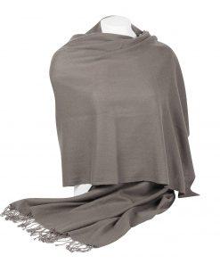 Pashminasjal - 70x200cm - 100% Cashmere - Steeple Grey
