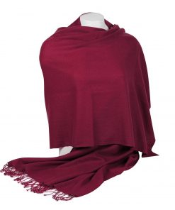 Pashminasjal - 70x200cm - 100% Cashmere - Rhododendron