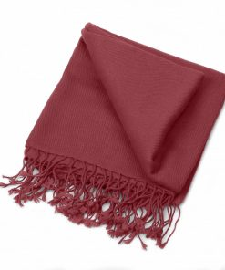Pashminasjal - 70x200cm - 100% Cashmere - Wild Ginger