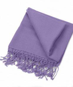 Pashminasjal - 70x200cm - 100% Cashmere - Purple Haze