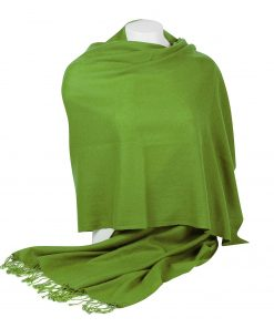 Pashminasjal - 70x200cm - 100% Cashmere - Forest Green