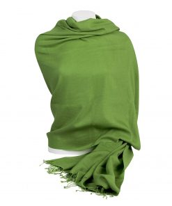 Pashminasjal - 90x200cm - 100% Cashmere - Forest Green