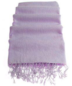 Pashmina Stole - 70x200cm - 7030 - Jacquard - Purple Heather