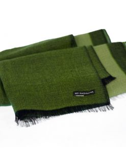 Pashmina - Superfine100count - 100% Cashmere - 50x180cm - Pea Green