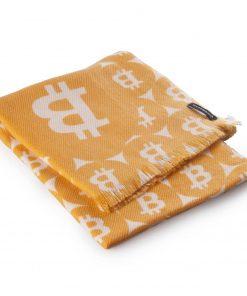 Pashminasjal - 45x200cm - 100% Cashmere - Bitcoin