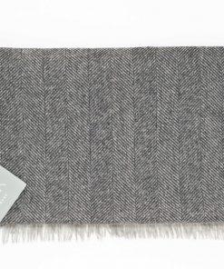 Halsduk / Scarf - 40x200cm - 100% Cashmere - Coke/Fumo